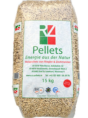 Pellet Austria Sacco 15 Kg Certificato A1 En Plus Solo X Ritiro In Negozio